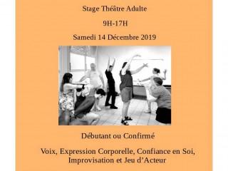 Stage théâtre 14 décembre